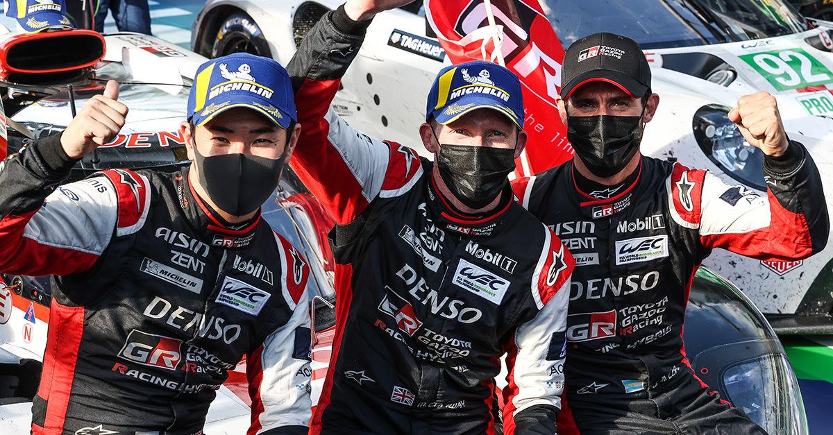 WEC 2021年シーズン第3戦 モンツァ6時間 決勝 TOYOTA GAZOO Racing、ル・マンの前哨戦で苦戦するもGR010 HYBRID 7号車が今季初勝利