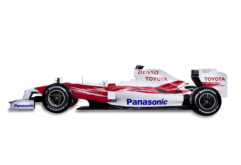 Tf109 F1 Car Toyota F1 Team Official Site