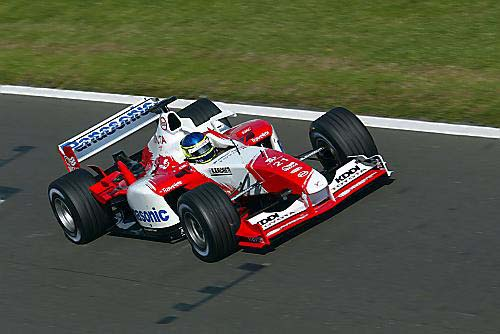 Toyota Official Site >> British GP 2003   TOYOTA F1 TEAM official site