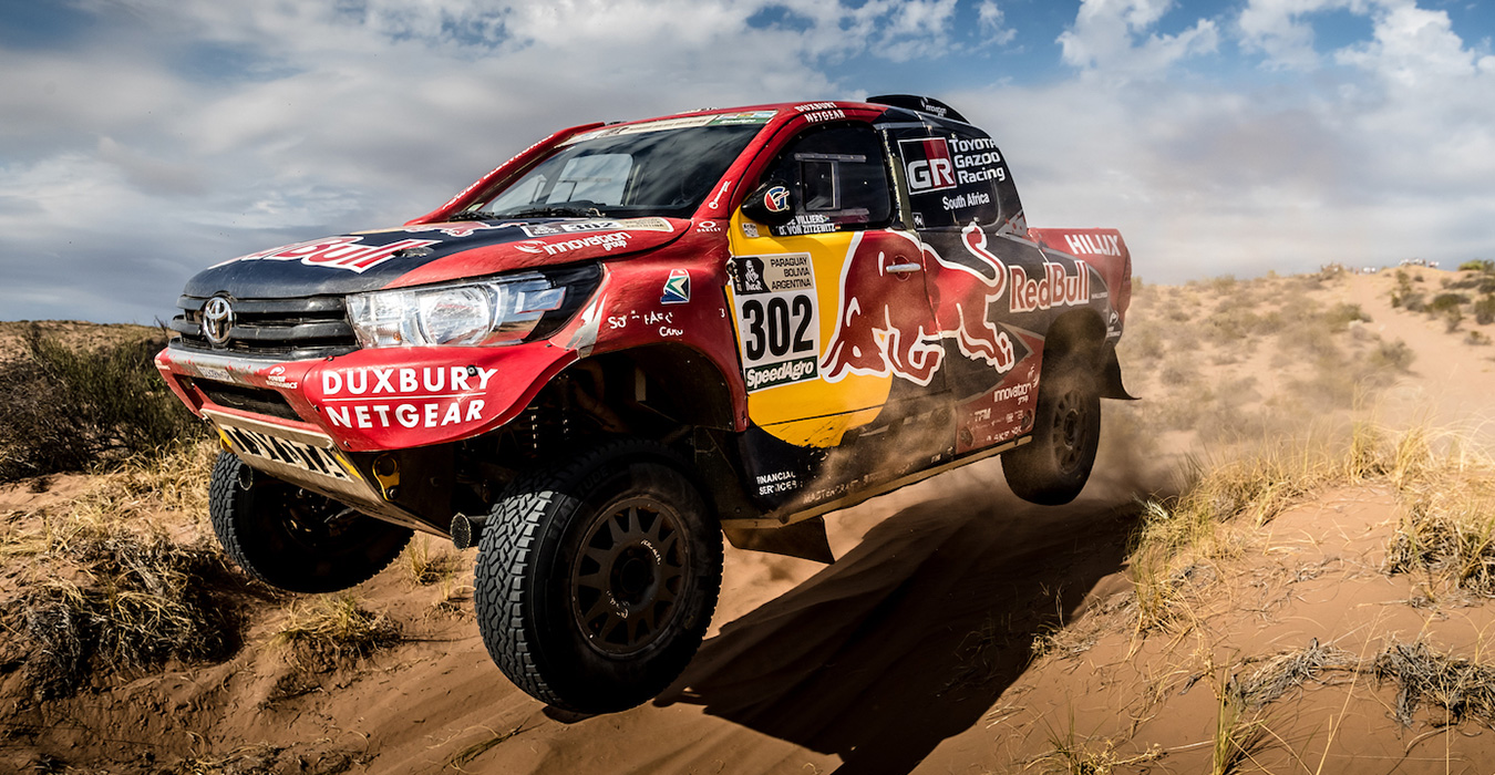 Report Dakar Rally Toyota Gazoo Racing