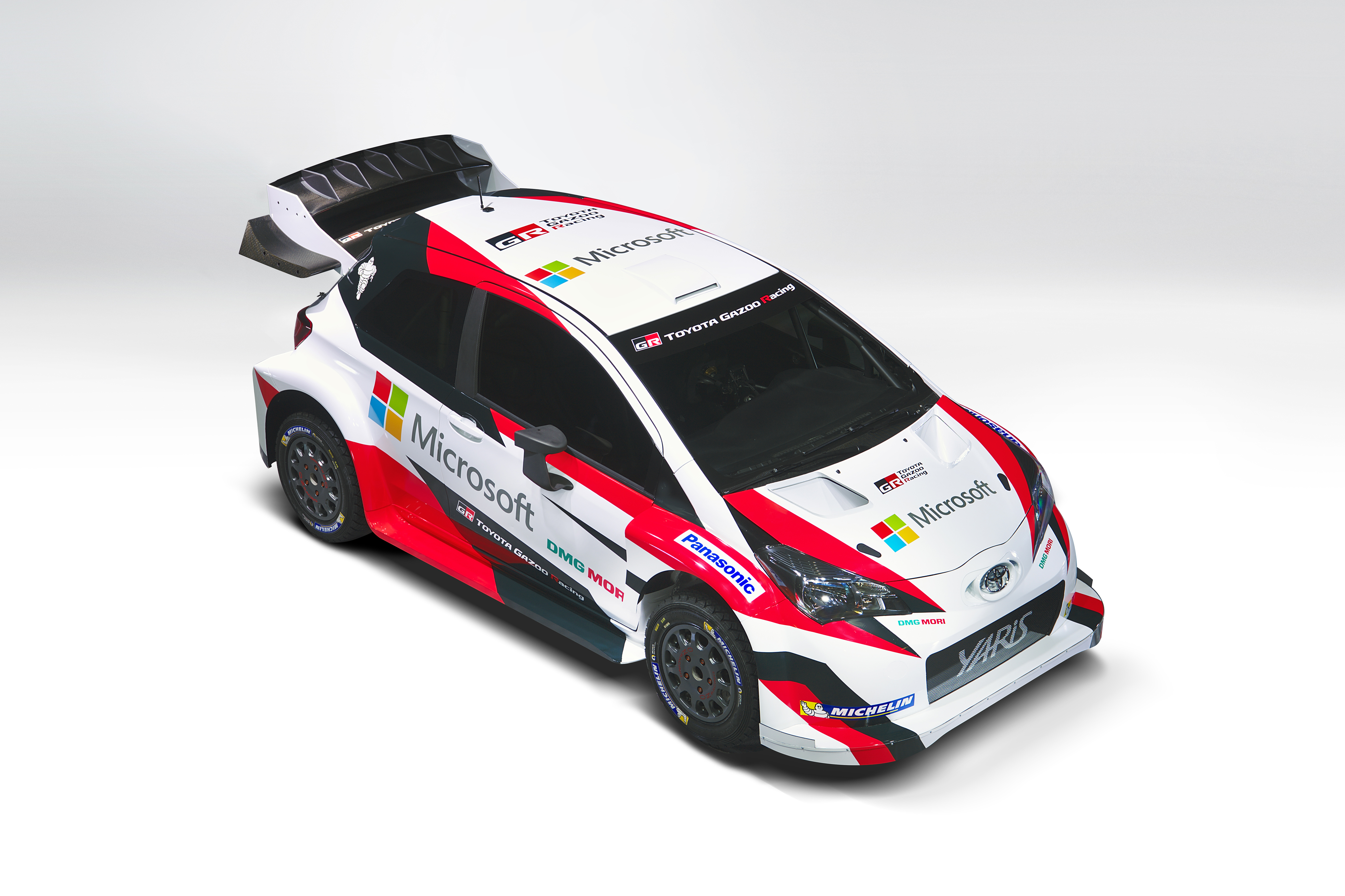 Microsoft And Toyota Join Forces In Fia World Rally