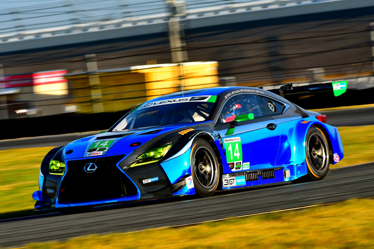 lexus rc f gt3 revealed at the tokyo auto salon 2017debuts