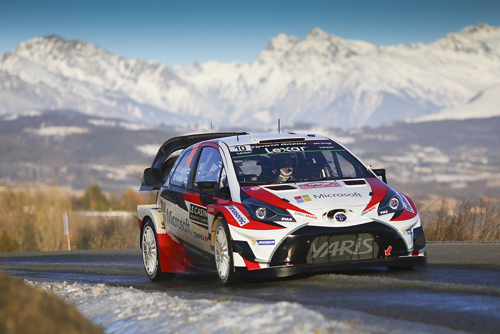 rd 1 shakedown press release 2017 wrc toyota gazoo racing wrc toyota gazoo racing. Black Bedroom Furniture Sets. Home Design Ideas