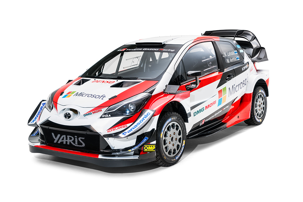 Press Release 2018 Wrc Toyota Gazoo Racing Wrc