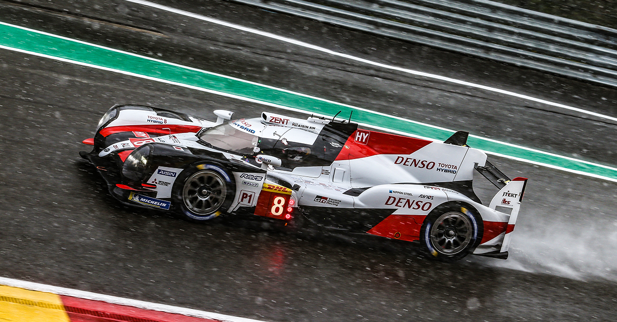 winner of Total 6 Hours of Spa-Francorchamps, TS050 HYBRID #8