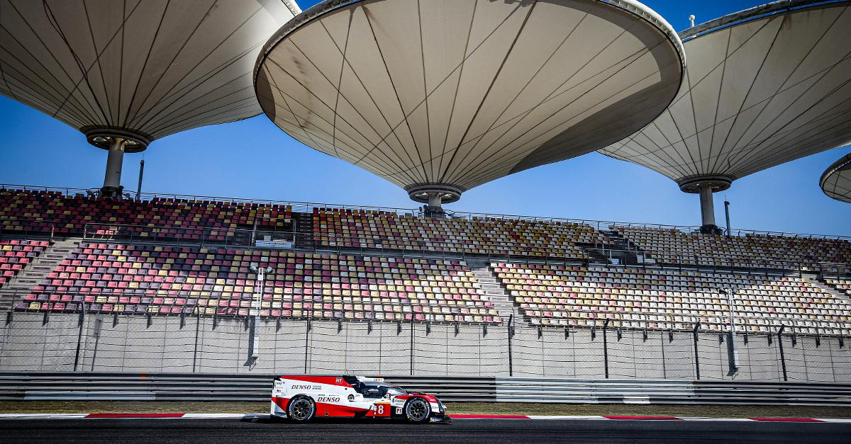 TS050 HYBRID #8 challenging for 4 HOURS OF SHANGHAI