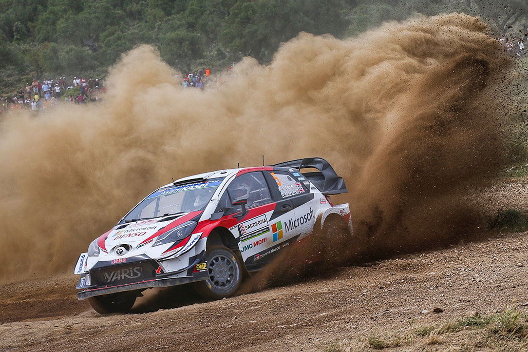 Car 5(Kris Meeke, Seb Marshall)