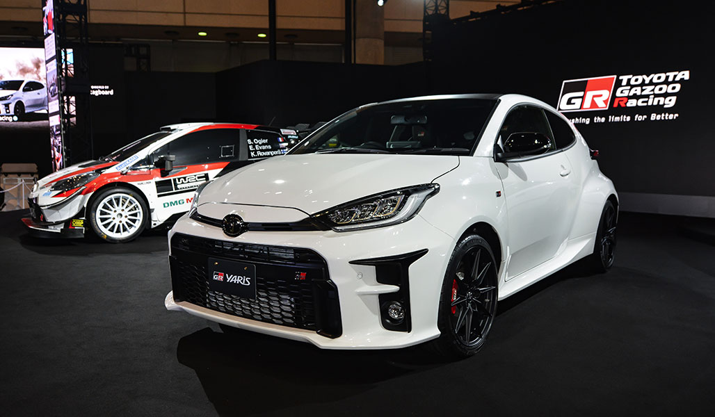 The GR Yaris premieres at the Tokyo Auto Salon 2020