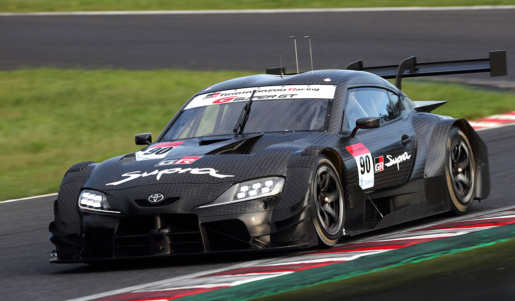The GR Supra GT500 will participate in the SUPER GT 2020 Series