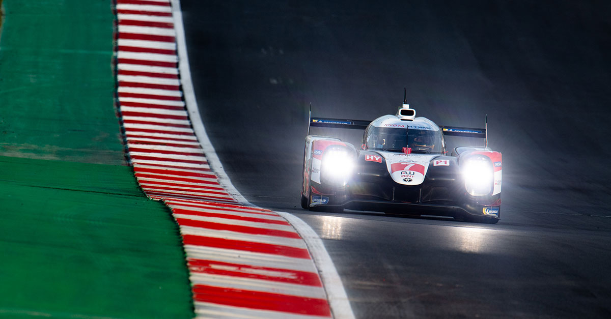 TS050 HYBRID #7 ranked second in WEC Round 5 Lone Star Le Mans qualifying