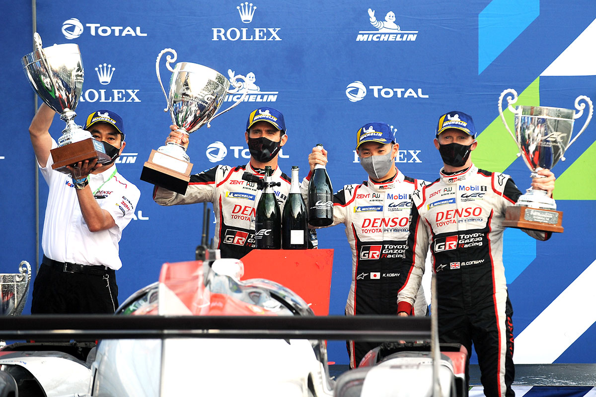 Total 6 Hours of Spa-Francorchamps Winner TS050 HYBRID #7 (Mike Conway, Kamui Kobayashi, Jose Maria Lopez)