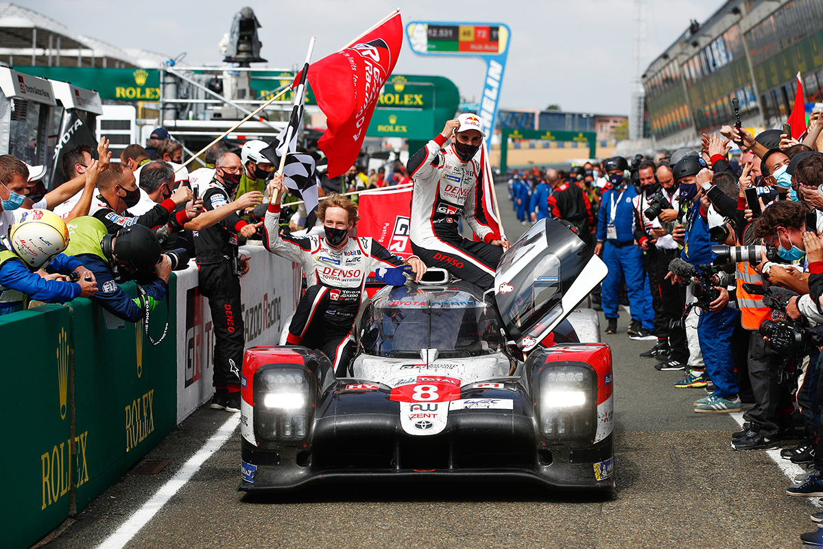 TS050 HYBRID, which won the 24 Hours of Le Mans for the third time in a row