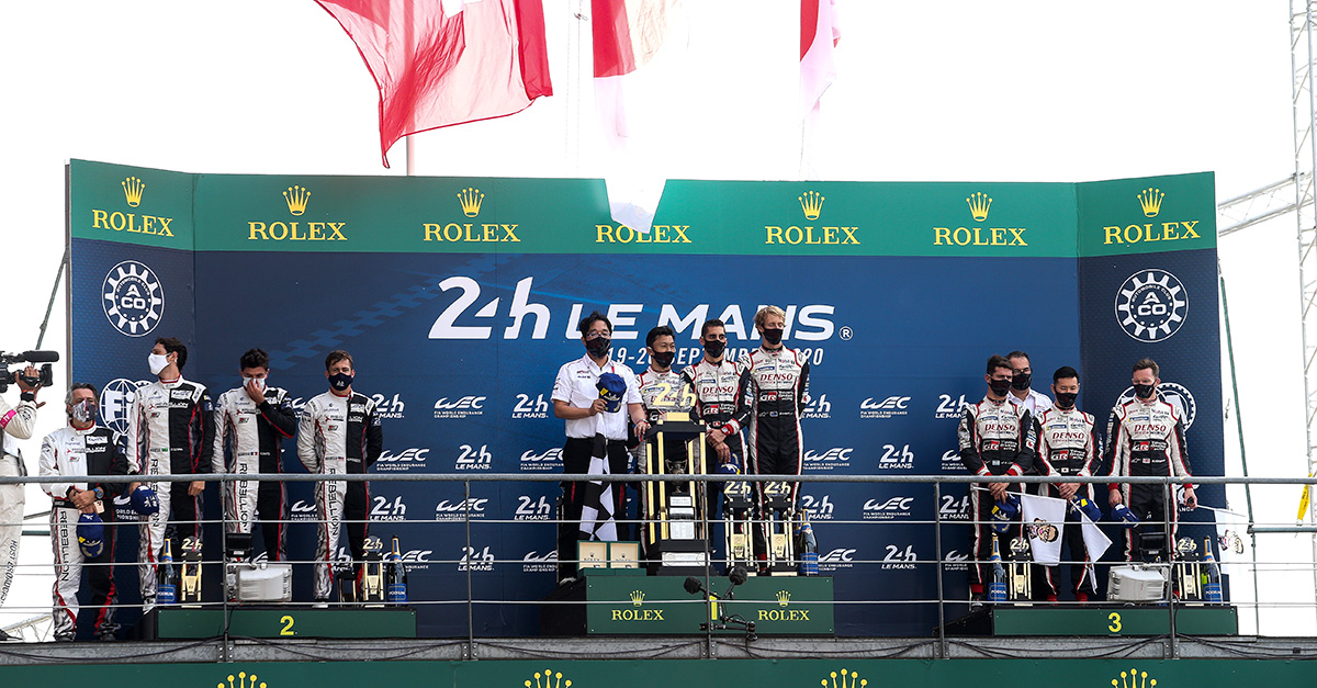 2020 24 Hours of Le Mans Awards Ceremony