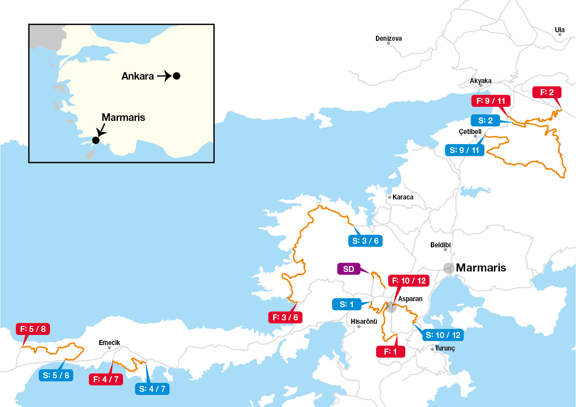 Map Rally Turkey 2020