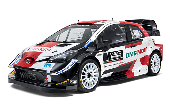 New-look Toyota Yaris WRC ready to fight for more titles in 2021