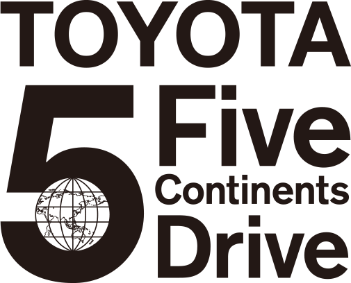 TOYOTA 5 continents drive