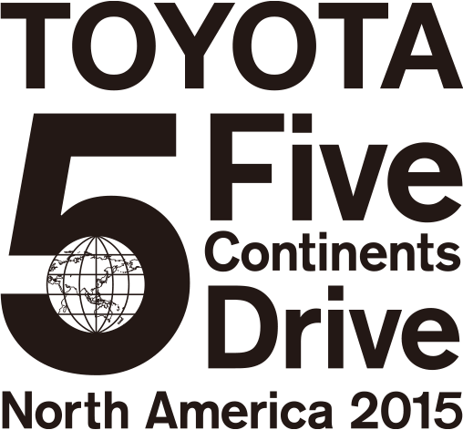 TOYOTA 5 continents drive North America 2015