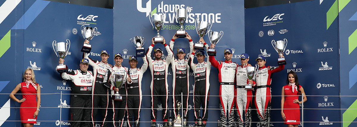 ROUND 1 4 HOURS OF SILVERSTONE Race: SILVERSTONE ONE-TWO FOR TOYOTA GAZOO Racing