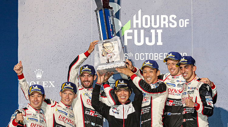 ROUND 2 6 HOURS OF FUJI Race: FUJI TRIUMPH FOR TOYOTA GAZOO Racing