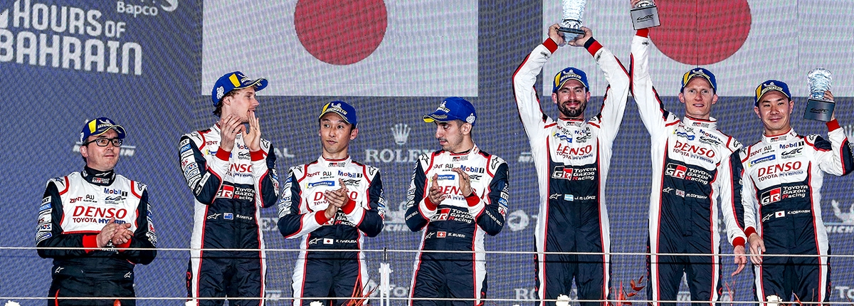 ROUND 4 8 HOURS OF BAHRAIN Race: TOYOTA GAZOO Racing REIGNS IN BAHRAIN