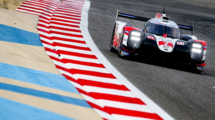 TALENTED TRIO TRY TS050 HYBRID IN BAHRAIN