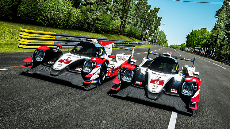 TOYOTA GAZOO Racing to make virtual Le Mans debut