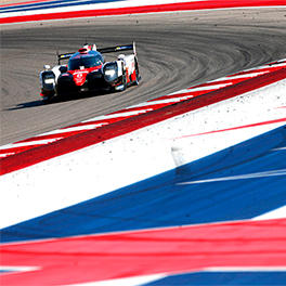 TS050 HYBRID #8 at the Circuit of the America