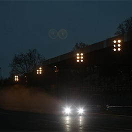 TS050 HYBRID in the night session