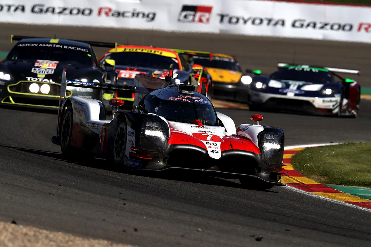 TS050 HYBRID No.7 competed the Total 6 Hours of Spa-Francorchamps, the opening race of the WEC 2018-19.
