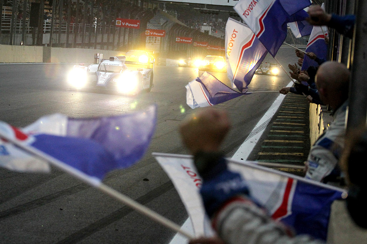 TS030 HYBRID won its first victory at the 6 Hours of São Paulo, round 5 of WEC 2012 season.