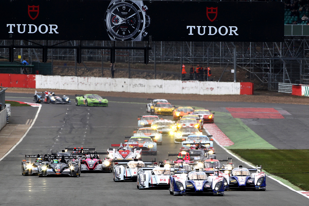 Start of the 6 hours of Silverstone, opening round of WEC 2013 season.