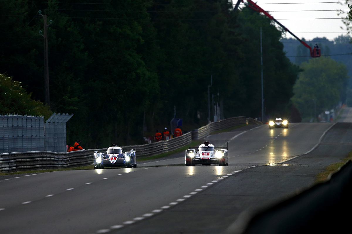 WEC 2015 season was a tough year. Although two TS040 HYBRIDs competed in the 24 Hours of LeMans proved their stable performance, they could not catch up the pace of rival cars.