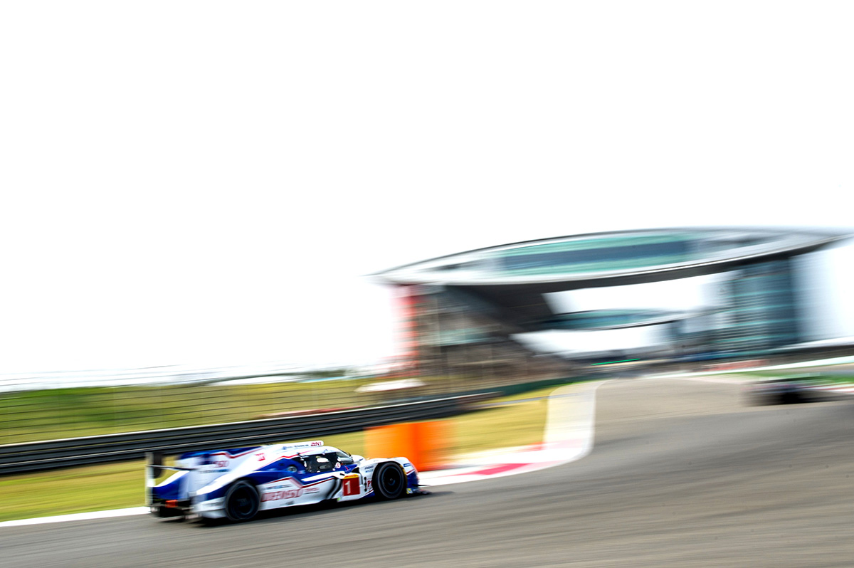 TS040 HYBRID competed in the 6 Hours of Shanghai, round 7 of WEC 2015 season.
