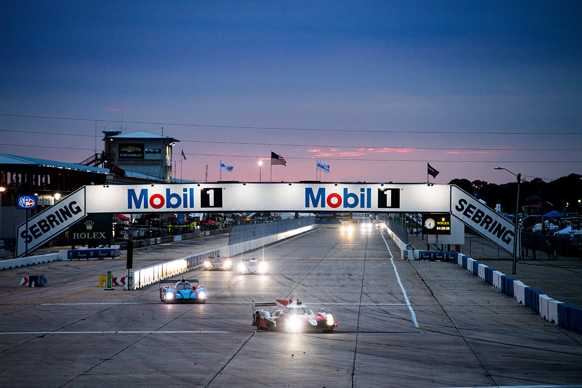 1000 Miles of Sebring was calendared as the round6 of WEC 2018-2019 super season.