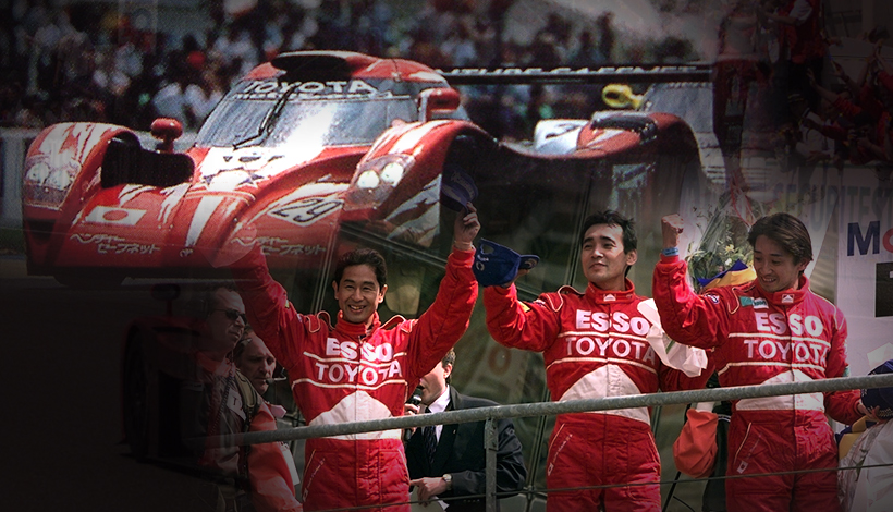 1995-1999 The TS020 with Three Japanese Drivers Finishes 2nd a Step from Victory
