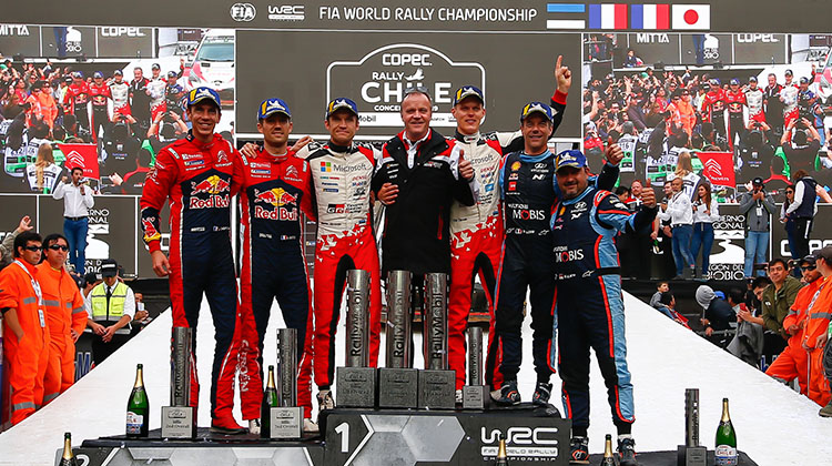 WRC Rd.6 Rally Chile Summary Report