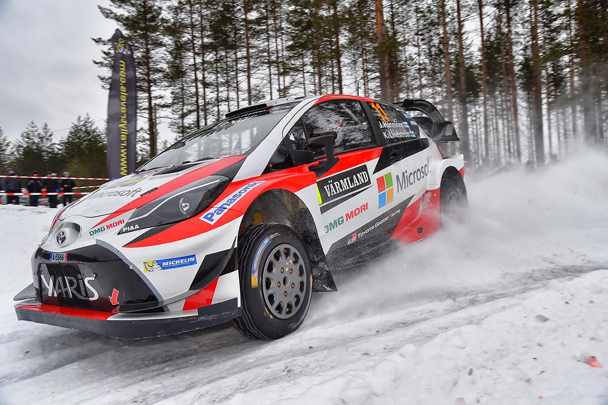 ... 2017 WRC Round 2 Rally Sweden ...