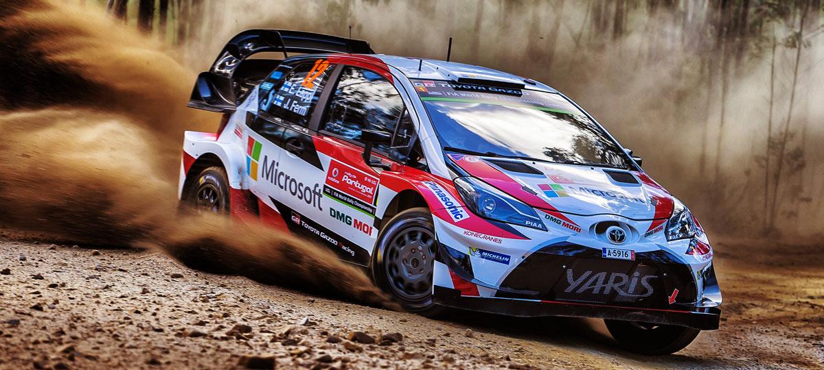 Toyota Yaris 2017 >> SUMMARY | Portugal | 2017 | WRC | TOYOTA GAZOO Racing
