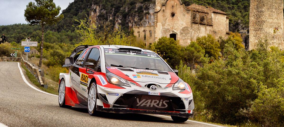 SUMMARY | ESPAÑA | 2017 | WRC | TOYOTA GAZOO Racing