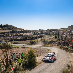 2019 WRC ROUND 13 RALLY DE ESPAÑA DAY2