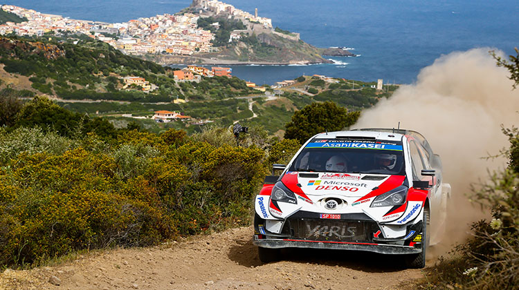 WRC Rd.8 Rally Italia Sardegna Summary Report