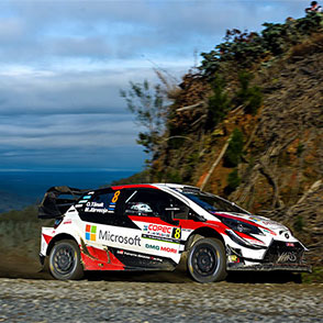 2019 WRC Round 6 Rally Chile Day2