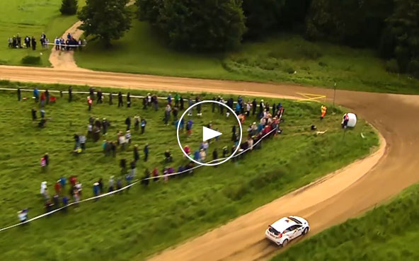 2016年7月15日~17日 Vol.5 auto24 Rally Estonia(ERC第6戦)ムービー