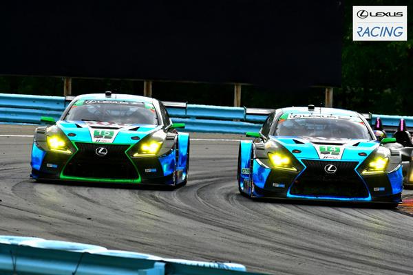 LEXUS RC F GT3」が上位を争い初...