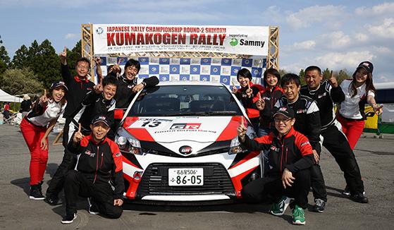TOYOTA GAZOO Racing Vitz GRMN Turbo (大倉聡/豊田耕司組)がJN5クラス優勝!