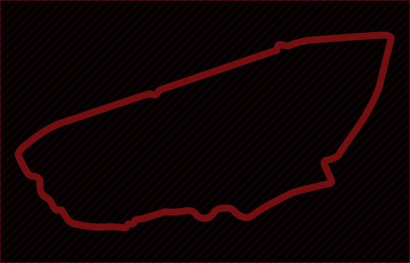サルト・サーキットのコース図