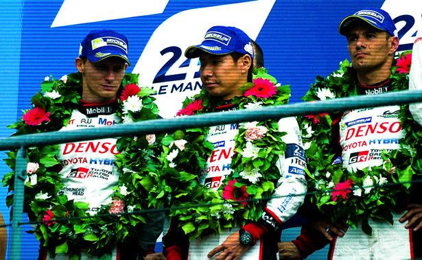 2位表彰台を獲得するも喜びのないTS050 HYBRID 6号車の3人のドライバーたち