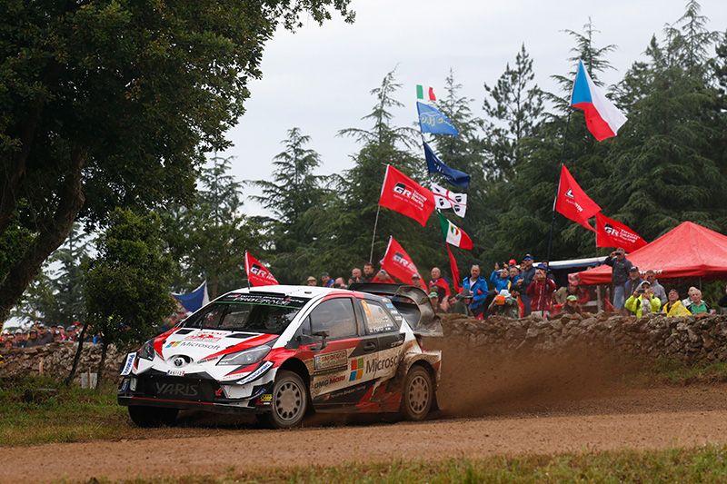 WRC Rd.7 イタリア サマリーレポート