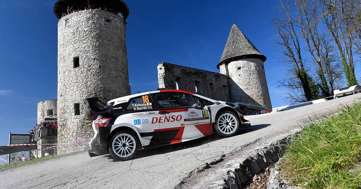 モータースポーツジャーナリスト古賀敬介のWRCな日々 WRC初開催の難関クロアチア・ラリーで勝田はトップと戦える速さを証明した